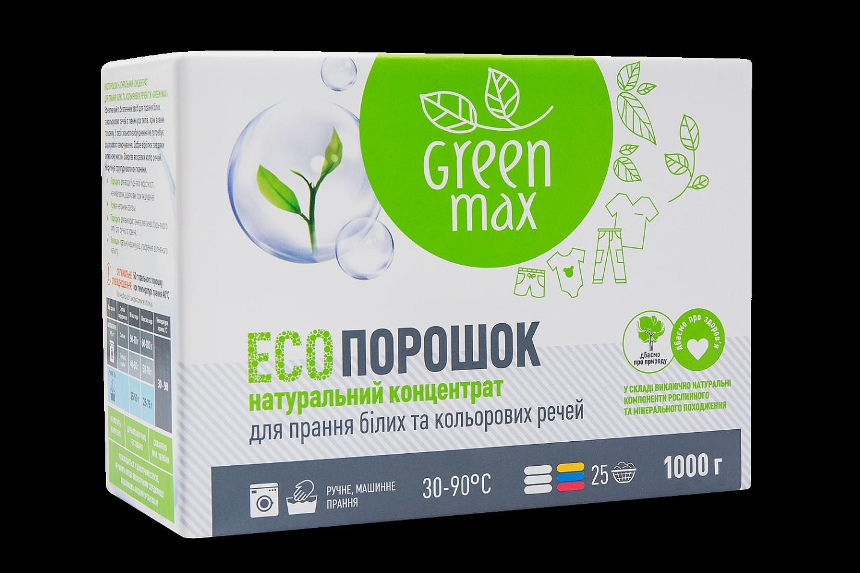 еко порошок green max